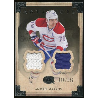 2013-14 Upper Deck Artifacts Jerseys #6 Andrei Markov /125