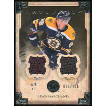 2013-14 Upper Deck Artifacts Jerseys #10 Brad Marchand /125