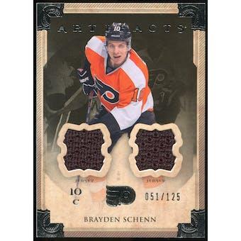 2013-14 Upper Deck Artifacts Jerseys #11 Brayden Schenn /125