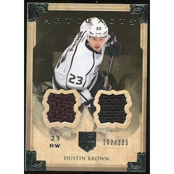 2013-14 Upper Deck Artifacts Jerseys #25 Dustin Brown /125
