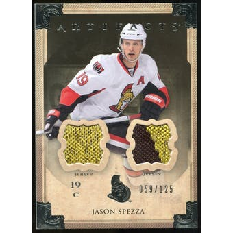 2013-14 Upper Deck Artifacts Jerseys #37 Jason Spezza /125
