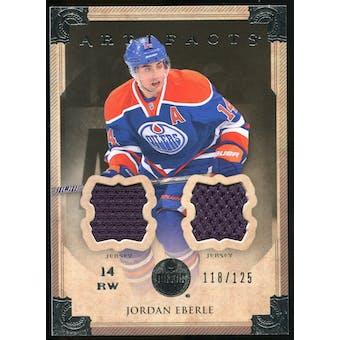 2013-14 Upper Deck Artifacts Jerseys #43 Jordan Eberle /125
