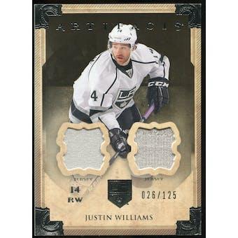 2013-14 Upper Deck Artifacts Jerseys #44 Justin Williams /125