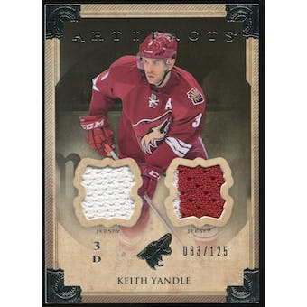 2013-14 Upper Deck Artifacts Jerseys #45 Keith Yandle /125