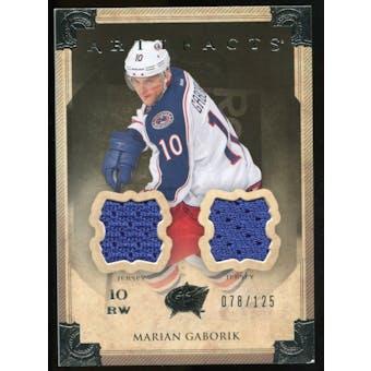 2013-14 Upper Deck Artifacts Jerseys #53 Marian Gaborik /125
