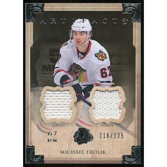 2013-14 Upper Deck Artifacts Jerseys #62 Michael Frolik /125