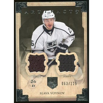 2013-14 Upper Deck Artifacts Jerseys #74 Slava Voynov /125