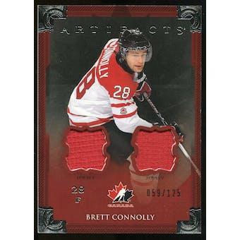 2013-14 Upper Deck Artifacts Jerseys #126 Brett Connolly TC /125
