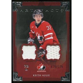 2013-14 Upper Deck Artifacts Jerseys #142 Keith Aulie TC /125