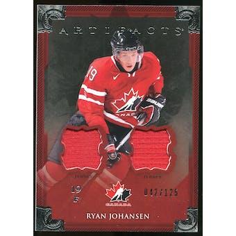 2013-14 Upper Deck Artifacts Jerseys #145 Ryan Johansen TC /125