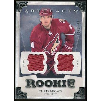 2013-14 Upper Deck Artifacts Jerseys #158 Chris Brown /125
