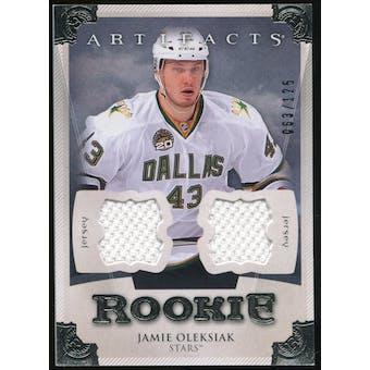 2013-14 Upper Deck Artifacts Jerseys #168 Jamie Oleksiak /125
