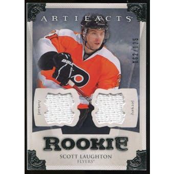 2013-14 Upper Deck Artifacts Jerseys #193 Scott Laughton /125