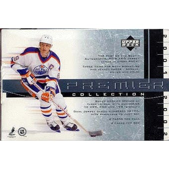 2001/02 Upper Deck Premier Collection Hockey Hobby Box