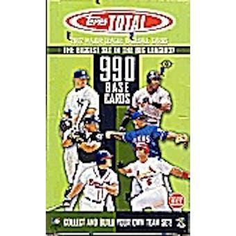 2002 Topps Total Baseball Hobby Box