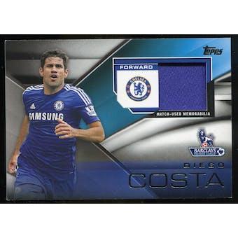 2014/15 Topps English Premier League Gold Football Fibers Relics #FFRDC Diego Costa