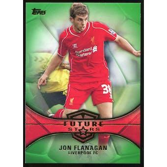 2014/15 Topps English Premier League Gold Future Stars Green #FSJF Jon Flanagan /60