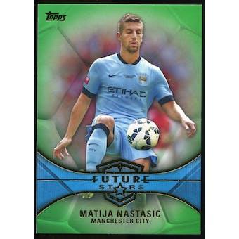 2014/15 Topps English Premier League Gold Future Stars Green #FSMN Matija Nastasic /60