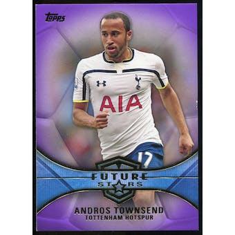 2014/15 Topps English Premier League Gold Future Stars Purple #FSAT Andros Townsend /50