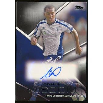 2014/15 Topps English Premier League Gold Premier Autographs #PAAW Andre Wisdom Autograph