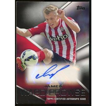 2014/15 Topps English Premier League Gold Premier Autographs #PAJWE James Ward-Prowse Autograph