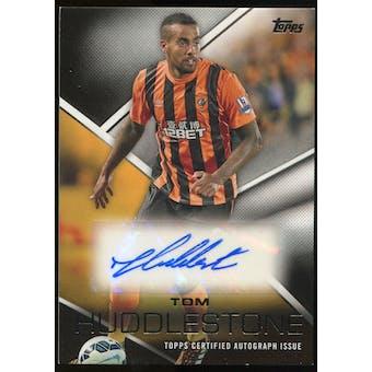 2014/15 Topps English Premier League Gold Premier Autographs #PATH Tom Huddlestone Autograph