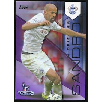 2014/15 Topps English Premier League Gold Purple #100 Sandro /50