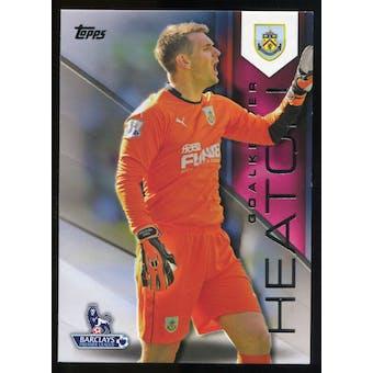 2014/15 Topps English Premier League Gold #17 Tom Heaton