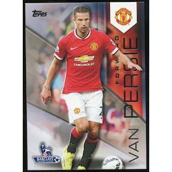 2014/15 Topps English Premier League Gold #87 Robin van Persie
