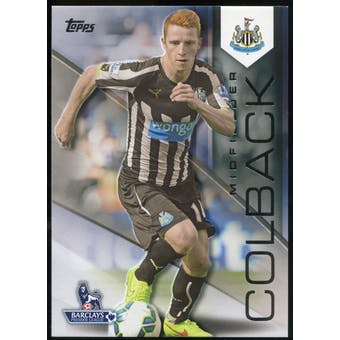 2014/15 Topps English Premier League Gold Black #93 Jack Colback /25