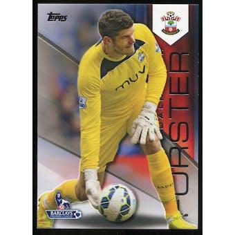 2014/15 Topps English Premier League Gold Black #102 Fraser Forster /25