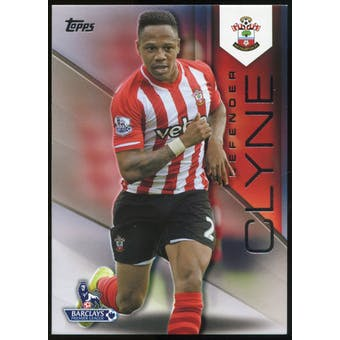 2014/15 Topps English Premier League Gold Black #104 Nathaniel Clyne /25