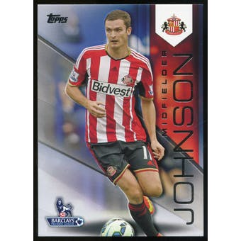 2014/15 Topps English Premier League Gold Black #120 Adam Johnson /25