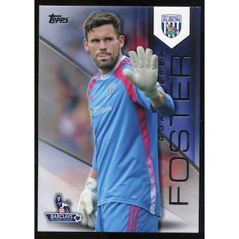 2014/15 Topps English Premier League Gold Black #137 Ben Foster /25