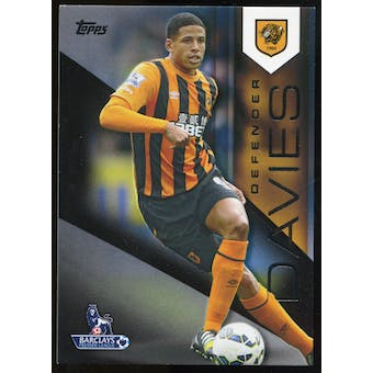 2014/15 Topps English Premier League Gold Black #48 Curtis Davies /25