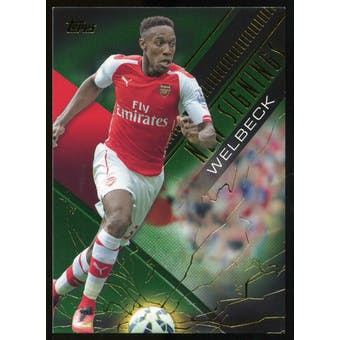 2014/15 Topps English Premier League Gold New Signings Green #NSDW Danny Welbeck /60