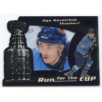 2008/09 Upper Deck Black Diamond Run for the Cup #CUP2 Ilya Kovalchuk /100