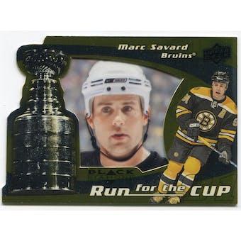 2008/09 Upper Deck Black Diamond Run for the Cup #CUP3 Marc Savard /100