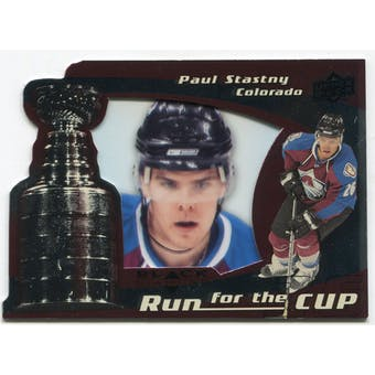 2008/09 Upper Deck Black Diamond Run for the Cup #CUP10 Paul Stastny /100