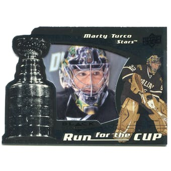 2008/09 Upper Deck Black Diamond Run for the Cup #CUP13 Marty Turco /100