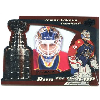 2008/09 Upper Deck Black Diamond Run for the Cup #CUP19 Tomas Vokoun /100