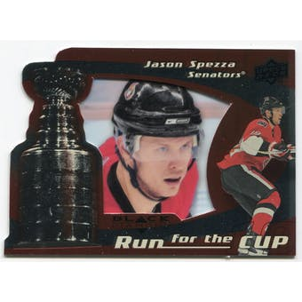 2008/09 Upper Deck Black Diamond Run for the Cup #CUP27 Jason Spezza /100
