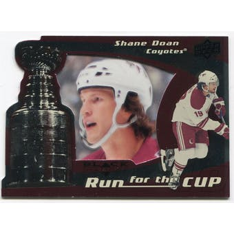 2008/09 Upper Deck Black Diamond Run for the Cup #CUP30 Shane Doan /100