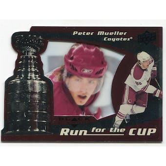 2008/09 Upper Deck Black Diamond Run for the Cup #CUP32 Peter Mueller /100