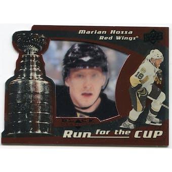 2008/09 Upper Deck Black Diamond Run for the Cup #CUP16 Marian Hossa /100