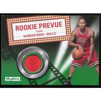 2008/09 Upper Deck SkyBox Rookie Prevue Retail #RPDR Derrick Rose