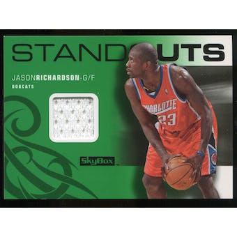 2008/09 Upper Deck SkyBox Standouts Retail #SOJR Jason Richardson