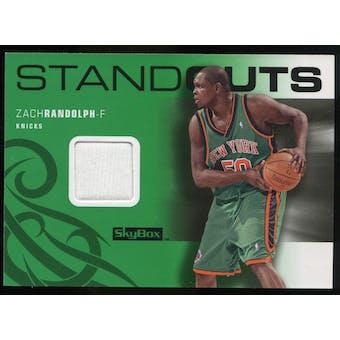 2008/09 Upper Deck SkyBox Standouts Retail #SOZR Zach Randolph