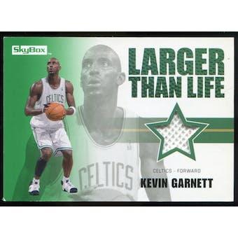 2008/09 Upper Deck SkyBox Larger Than Life Retail #LLKG Kevin Garnett