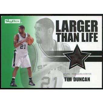 2008/09 Upper Deck SkyBox Larger Than Life Retail #LLTD Tim Duncan